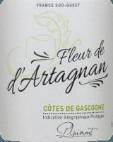 Voorvertoning: Fleur de d'Artagnan Blanc Côtes de Gascogne 2020 - Plaimont