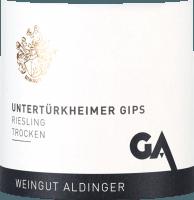 Voorvertoning: Untertürkheimer Gips Riesling trocken 2019 - Aldinger
