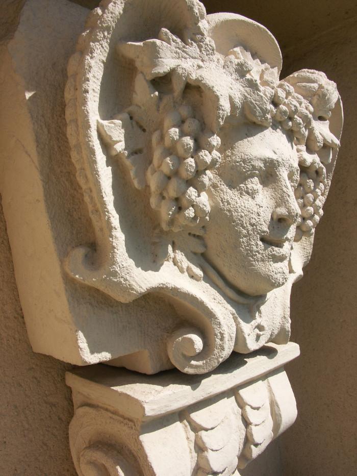 Louis Jadot Head of the wine god Bacchus