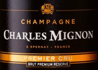Voorvertoning: Brut Premium Réserve Premier Cru - Champagne Charles Mignon