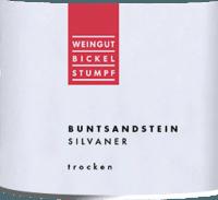 Voorvertoning: Silvaner Buntsandstein trocken 2019 - Bickel-Stumpf