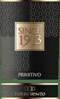 Voorvertoning: Since 1913 Primitivo Puglia IGT 2017 - Torrevento