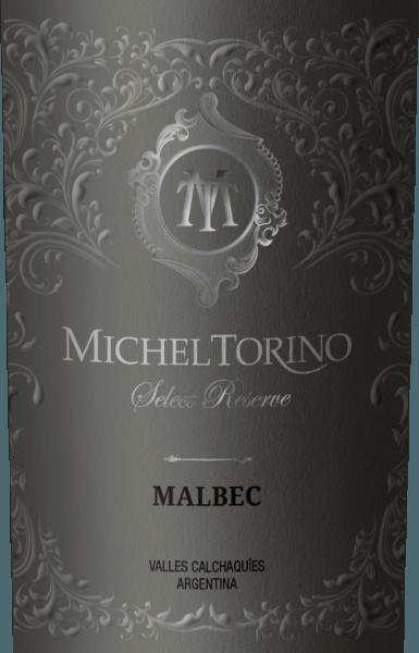 De rode kleur van de Select Reserve Malbec van Michel Torino is gestreept met paarse accenten en oogt levendig, diep en stralend. In de neus ontvouwen zich aroma's die doen denken aan pruimenjam, rozijnen, pijptabak, vanille, chocolade en zachte, harmonieuze eikentonen. In de volle smaak van de Argentijnse rode wijn zijn zoete, ronde, zachte en volledig rijpe tannines en harmonieuze impressies van gedroogd fruit, chocolade aroma's, eikenhout en rijp fruit waarneembaar. Een lange en aantrekkelijke afdronk rondt deze rode wijn af. Vinificatie van de Malbec Select Reserve Michel Torino De oogst van de Malbec-druiven gebeurt met de hand. Gedurende 12 maanden wordt 70% van de wijn op hout gerijpt. Hiervan rijpt 60% van de rode wijn in Franse barriques en 40% in Amerikaanse barriques. Spijsadvies voor de Select Reserve Malbec Michel Torino Serveer deze lang aanhoudende en elegante wijn bij smakelijke gerechten zoals steaks, gestoofd vlees en wild, maar ook bij chocolade en kaas. Onderscheidingen voor deTorino Select Reserve Malbec Wine Spectator: 90 punten voor 2017 Wine World: 90 punten voor 2014 Wine Spectator: 90 punten voor 2014