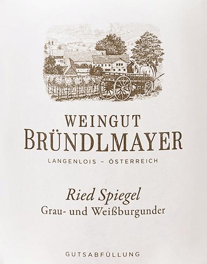 Grau- und Weißburgunder Langenloiser Spiegel 2016 - Bründlmayer von Weingut Bründlmayer