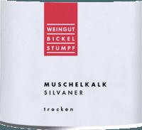 Voorvertoning: Silvaner Muschelkalk trocken 2019 - Bickel-Stumpf