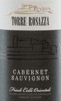 Voorvertoning: Cabernet Sauvignon DOC2015 - Torre Rosazza