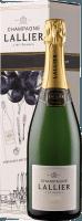 R.015 brut in Geschenkverpackung - Champagne Lallier