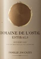 Voorvertoning: Domaine L'Ostal Cazes Estibals Minervois AOC 2018 - Domaines Cazes