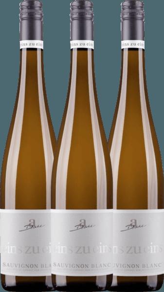 3er Vorteils-Weinpaket - Sauvignon Blanc eins zu eins 2020 - A. Diehl