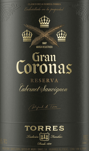 Gran Coronas Cabernet Sauvignon Reserva DO 2015 - Miguel Torres von Miguel Torres