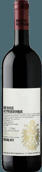 Deze single-varietal Merlot toont een dieprode met granaatkleurige tinten in het glas. De karakteristieke fijne geur van kersen en bessen wordt afgewisseld met subtiele vanilletonen. De smaak van de Merlot DOC Collio van het huis Russiz Superiore is sappig en fruitig met een lange, lange afdronk. De jonge rode wijn rijpt 12 maanden in kleine houten vaten en rijpt nog eens 6 maanden in de fles. Food Pairing / Voedingsadvies voor deMerlot DOC Collio from Russiz SuperioreServeer deze Italiaanse rode wijn bij pizza en pasta, maar ook bij pittige kip- en kalkoengerechten of geniet er gewoon van op het terras of balkon. Awards voor deMerlot DOC Collio van Russiz SuperioreParker Points - Wine Advocate: 89 Points (Yr. 08)