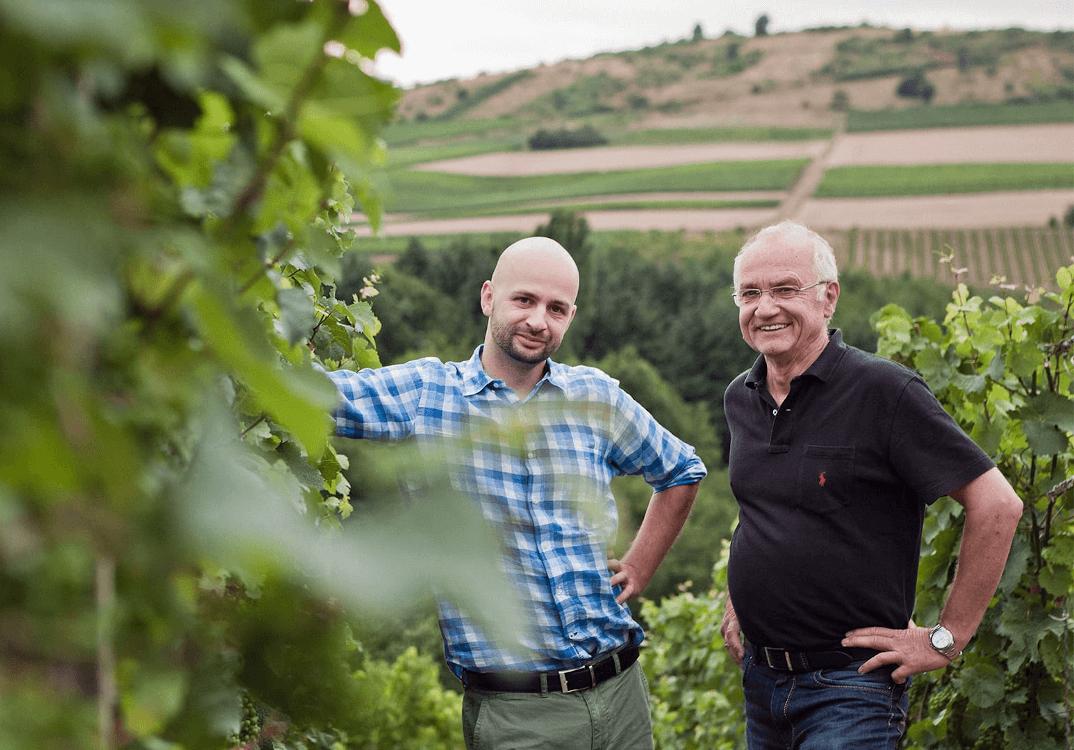 The winemakers Cornelius and Helmut Dönnhoff
