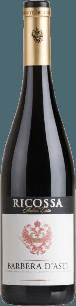 De Barbera d'Astivan Ricossa is een volle, zuivere en harmonieuze rode wijn uit het Italiaanse wijnbouwgebied DOCG Barbera d'Astiin Piëmonte In het glas heeft deze wijn een donkere robijnrode kleur met oranje accenten. De neus wordt bedorven door een verleidelijk bouquet van volrijpe pruimen en gedroogd fruit. In de mond overtuigt deze Italiaanse rode wijn met een prachtig evenwicht tussen de bessenaroma's en de goed geïntegreerde zuurgraad. De goede structuur en de prachtige body geven deze wijn zijn volle karakter. Aanbevolen voedsel voor de RicossaBarbera d'Asti Geniet van deze droge rode wijn uit Italië bij stevige pastagerechten, varkensmedaillons met saffraanrijst of ook bij blauwe kaas.