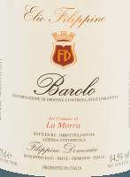 Voorvertoning: La Morra Barolo DOCG 2016 - Elio Filippino
