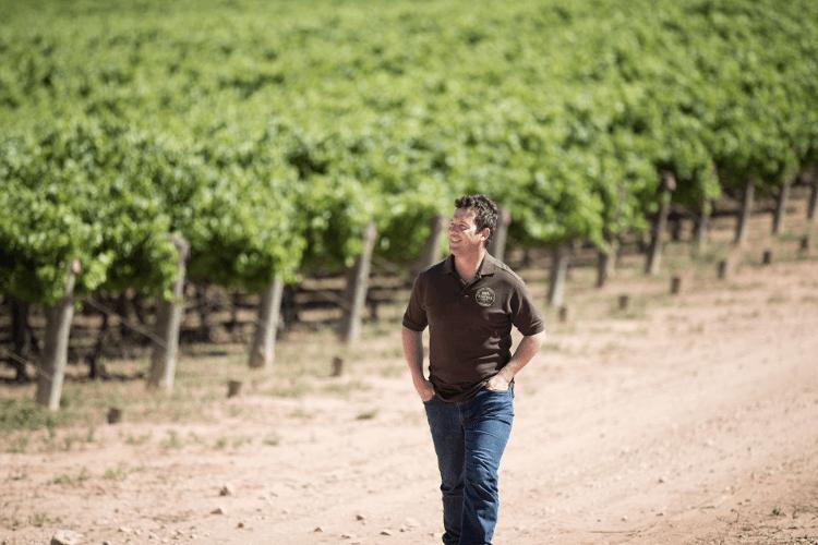 Der Winemaker Paul Burnett