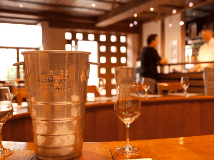 The Trimbach winery in Alsace