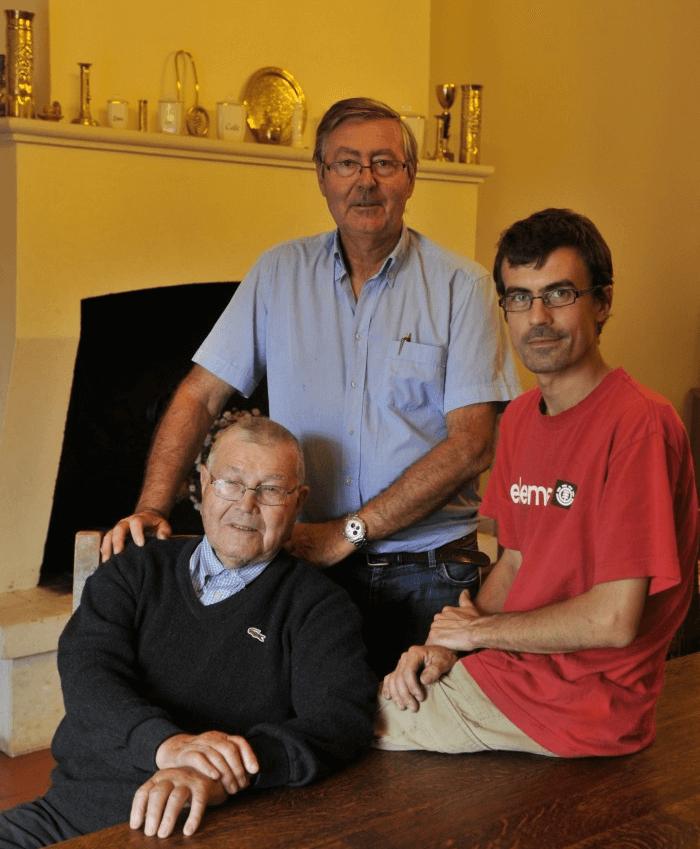 Drei Generationen von Ducourt