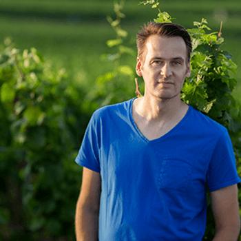 The winemaker Alexander Gysler