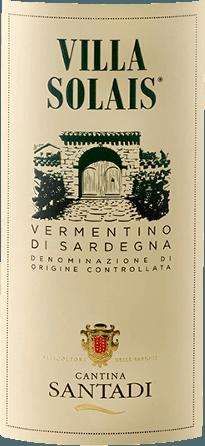 De Villa Solais DOC van Cantina di Santadi verschijnt in het glas in een helder strogeel met groenige en gouden reflecties en ontvouwt zijn frisse en aangename bouquet. Deze wordt gekenmerkt door delicate en fijne bloemige aroma's met een aanlokkelijk fruit. Deze cuvée van witte wijn is aangenaam in de mond met een aangename frisheid en een stimulerende mineraliteit. Vinificatie voor de Villa Solais DOC van Cantina di Santadi Deze cuvée bestaat uit de druivensoorten Vermentino (85%) en Nuragus (15%). De druiven zijn afkomstig van wijngaarden in vijf verschillende gemeenten in de lage regio Sulcis. Het klimaat is er droog en warm in de zomer, gematigd in de winter. De bodems zijn hoofdzakelijk zandig en kleiig. De druiven, die met de hand worden geoogst, worden licht geperst en de most fermenteert vervolgens in roestvrijstalen vaten bij een gecontroleerde temperatuur om het aroma en de geur volledig te behouden. De wijn rijpt een paar maanden met zijn eigen gist voordat hij uiteindelijk wordt gebotteld. Serveertips voor de Villa Solais DOC van Cantina di Santadi Geniet van deze droge witte wijn bij pasta met vis of wit vlees. Koud geserveerd, is de Villa Solais ook geschikt als aperitief. Prijzen voor de Villa Solais DOC van Cantina di Santadi Gambero Rosso: 2 glazen (jaargangen 2015, 2011) Gambero Rosso: 1 glas (jaargangen 2013) 2012) Wine Spectator: 87 punten (jaargang 2013) Wine Spectator: 86 punten (jaargang 2011)