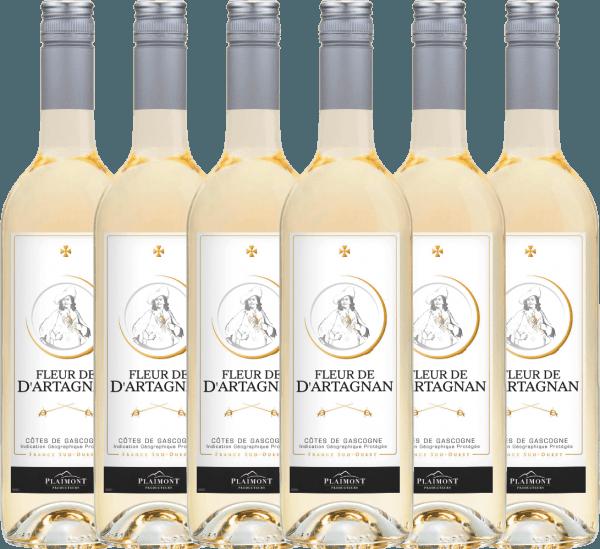6er Vorteils-Weinpaket - Fleur de d'Artagnan Blanc 2019 - Plaimont
