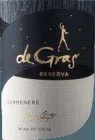 Voorvertoning: De Gras Reserva Carmenère 2019 - Viña Montgras