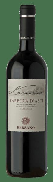 Deze Barbera d'Asti is een zuivere en gestructureerde Rosso. Het ruikt verleidelijk naar frambozen en viooltjes. In de mond voelt men een extract-rijke body met zeer mooi geïntegreerde dichte tannines. De rode wijn rijpte twaalf maanden in Slavonische eiken vaten. De druiven uit de streken Cascina Cremosina en Nizza Monferrato, geteeld op kalk- en leisteenbodems, werden met de hand geoogst.  Food Pairing / Serveersuggesties voor deCremosina Barbera d'Asti Superiore DOCvanBersano Hij past perfect bij kip in rode wijn, pasta of gebraden kalfsvlees. Prijzen voor deCremosina Barbera d'Asti Superiore DOCvanBersano Gambero Rosso: 2 glazen (wijnjaren 11 - 13)Bibenda: 4 druiven (wijnjaren 2013)Vini Buoni d'Italia: Gouden Ster (wijnjaren 11)