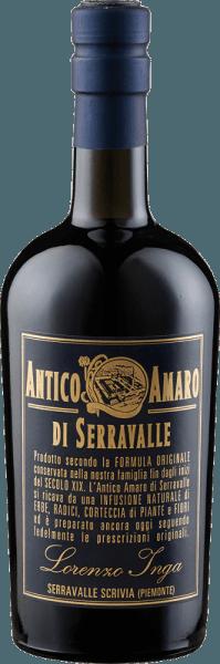 De Antico Amaro di Serravalle van Lorenzo Inga is een stimulerende en etherische amaro uit Piemonte Deze kruidenlikeur overtuigt in de mond met zijn hartige en kruidige totaalindruk. Productie van de Antico Amaro di Serravalle door Lorenzo Inga Antico Amaro di Serravalle wordt gemaakt door meer dan 20 kruiden, planten, wortels en boomschors te infuseren in alcohol, suiker en water. Dit recept dateert uit 1832 en werd ontwikkeld door een kapucijner monnik om een kruidenelixer te maken om cholera in India te genezen. Serveertips voor de Antico Amaro di Serravalle van Lorenzo Inga Geniet van deze Amaro puur als digestief.