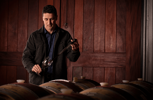 The winegrower Rolf Holdenried of Black Stallion Estate