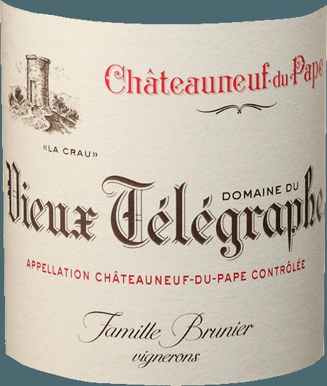 Châteauneuf-du-Pape Blanc AOC 2018 - Vieux Télégraphe von Vignobles Brunier