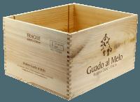 6er Original Weinkiste ohne Deckel mit Branding