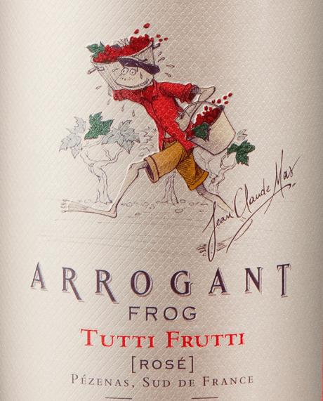 Tutti Frutti Rosé 2019 - Arrogant Frog von Arrogant Frog