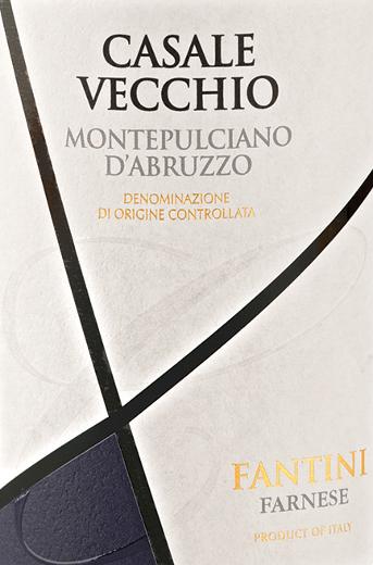 DeCasale Vecchio Montepulciano d'Abruzzo van Farnese Vini is een goed gestructureerde, aangenaam fruitige en elegante rode wijn uit het Italiaanse wijnbouwgebied DOCMontepulciano d'Abruzzo in Abruzzo. In het glas glinstert deze wijn in een krachtig robijnrood met granaatkleurige accenten. Het aanhoudende bouquet wordt gedragen door fruitig-intense aroma's van rood fruit (framboos en rode bes), pruimen, tonen van amaretto en wat marsepein -De fruitige aroma's worden afgerond door edele specerijen. Het gehemelte wordt gedomineerd door de elegante fruitigheid en de zachte tannines, die perfect harmoniëren met de evenwichtige structuur en de volle body. Vinificatie van de Farnese Vini Casale Vecchio Nadat de druiven waren geoogst, vond de gisting plaats bij een lage temperatuur. Na de malolactische gisting werd deze wijn overgebracht naar vaten van Amerikaans eikenhout en daar gedurende 6 maanden gerijpt. Aanbevolen maaltijden voor Farnese Vini Casale Vecchio Geniet van deze droge rode wijn uit Italië bij belegen kaas of gegrild vlees. Prijzen voor de Farnese Vini Casale Vecchio Mundus Vini: Gouden medaille voor 2014 AWC Vienna International Wine Challenge: Zilveren medaille voor 2014