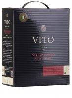 Vito Negroamaro Zinfandel 3,0 l Bag in Box Weinschlauch - Mondo del Vino