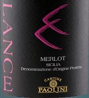 Voorvertoning: Lance Merlot Sicilia DOC 2018 - Cantine Paolini