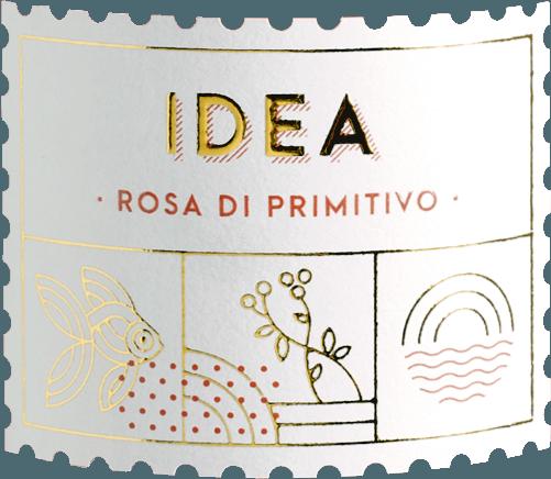 De IDEA Rosa di Primitivo uit Varvaglione toont zich met heldere frambozenrode en kersenrode reflecties in het glas. De neus van deze Apulische rosé toont veel rood bessenfruit, vooral rode bes, framboos en cranberry. Bloemige nuances en delicate kruidentonen van citroenmelisse en munt vullen het boeket van de IDEA Rosa di Primitivo perfect aan. In de mond betovert de Varvaglione IDEA Rosa di Primitivo met veel fruit, een heerlijke drinkstroom en fijne mineraliteit. Balsamicotonen en een vitale, frisse zuurgraad maken deze rosé onvoorstelbaar lang en drinkbaar in de mond. Vinificatie van de IDEA Rosa di Primitivo door Varvaglione De druiven voor deze top Apulische wijn groeien in de IGT Puglia zone en worden onmiddellijk na de oogst naar de wijnmakerij gebracht, gekneusd en koud gemacereerd. Na enkele uren op de schillen wordt het sap voor de Idea Rosa di Primitivo geperst en vergist bij 15-16°C in roestvrijstalen tanks. Daarna rijpt het vlaggenschip van de Varvaglione rosé nog enkele maanden op de droesem, die herhaaldelijk wordt omgeroerd. Aanbevolen voedsel voor de Varvaglione IDEA Rosa di Primitivo Geniet van deze sappige rosé gemaakt van de beste Primitivo druiven het beste bij gegrilde zeevruchten zoals scampi, pulpo of baby inktvis met citroen en veel peterselie. Prijzen voor de Varvaglione IDEA Rosa di Primitivo Gambero Rosso: 3 glazen voor 2018