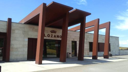 The Spanish Bodega Lozano in Castile La Mancha