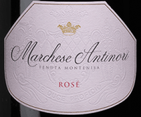 Voorvertoning: Marchese Antinori Rosé Franciacorta DOCG - Tenuta Montenisa