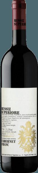 Deze zuivere Cabernet Franc heeft een prachtige diepe robijnrode kleur in het glas. Hij rijpte 12 maanden op eikenhouten vaten enmaakt indruk met zijn overvloed aan aroma's, zoals groene peper, zwarte bessen, bramen en zwarte kersen. Russiz Superiore Cabernet Franc heeft een frisse, volle, elegante smaak en mooie fluweelachtige ondertonen. Lekker eten combinatie / aanbeveling voor deCabernet Franc DOC Collio from Russiz Superiore Serveer deze elegante Italiaanse rode wijn bij vleesgerechten zoals biefstuk of rundvlees. Onderscheidingen voor deCabernet Franc DOC Collio van Russiz Superiore Wine & Spirits: 90 pts. (Jg. 08)