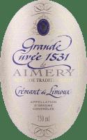 Voorvertoning: Aimery Grande Cuvée 1531 Crémant Brut - Sieur d'Arques