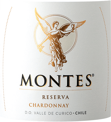 The colour of Montes Reserva Chardonnay is a brilliant bright gold with greenish reflections in the glass. The bouquet delights the nose with an exotic fruit composition of ripe mangos, fresh bananas and juicy peaches. The aromas of the nose are accompanied by the finest wood nuances and vanilla. On the palate, this Chilean white wine has a wonderfully smooth, full-bodied, almost creamy character, which harmonizes perfectly with the juicy fruit, soft acidity and spice. Vinification of the Chardonnay Reserva of Montes The Chardonnay grapes for this pure white wine grow in the Valle de Curicó. The grapes are harvested and brought to the winery only when they are fully ripe. After gentle pressing, the must is fermented cool in stainless steel tanks at a controlled temperature. After alcoholic fermentation, 40% of the wine is aged in French oak barrels for 6 months. The other 60% continue to rest in stainless steel tanks. Food recommendation for the Montes Reserva Chardonnay We recommend this dry white wine from Chile with tender salmon dishes, veal escalope or vegetable lasagne.
