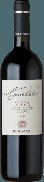 """Deze single-varietal Barbera van topkwaliteit is meerdere malen uitgeroepen tot de beste wijn van het wijnhuis Bersano en heeft een uitgesproken elegantie. Hij rijpte 12 maanden in de barrique en nog eens 6 maanden in de fles. De rode wijn ruikt naar fijne vanillestokjes en donker fruit. In de mond bekoort hij met aroma's van rijpe kersen en wilde bessen. Zachte tannines zijn elegant verweven, bekroond door een langdurige afdronk. Het terroir wordt meesterlijk weerspiegeld in deze verleidelijke en talrijke bekroonde rode wijn.  Prijzen voor deGenerala Barbera d'Asti Superiore DOCvanBersano I Vini di Veronelli: 91 punten & 3 sterren (jaargang 12)Gambero Rosso: 2 glazen (wijnjaren 10 - 12)Bibenda: 4 druiven (oogstjaar 12)Luca Maroni: 90 pts. """"Beste Bersano wijn"""" (jaargangen 10 & 12)"""