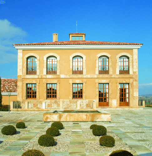 The manor house in Ribera del Duero of Aster