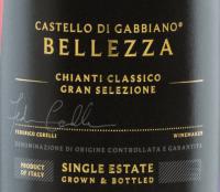 Voorvertoning: Bellezza Chianti Classico Gran Selezione DOCG 2015 - Castello di Gabbiano