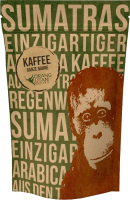 Orang-Utan coffee ground - Speicherstadt Kaffeerösterei