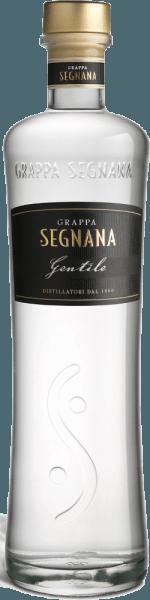 De Grappa Gentile van Segnana is een fijn distillaat, dat hoofdzakelijk bestaat uit de Chardonnay pomace van het Ferrari wijnhuis, maar bevat ook rode druivensoorten die een fijne toets geven aan de elegantie van de Chardonnay.