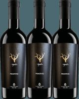 3er Vorteils-Weinpaket - Trefilari Primitivo 2018 - Cantina Sampietrana