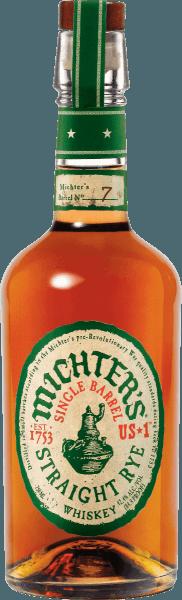 De Michter's US*1 Single Barrel Straight Rye Whiskey schittert in een goudbruine amberkleurige tint in het glas. De neus van deze nobele whisky belooft aroma's van toffee en hazelnoot, aangevuld met eikenhout, versgemalen zwarte peper, citroenschil en vers hooi. In de mond is Michter's US*1 Single Barrel Straight Rye Whiskey verrukkelijk met zijn rijkdom, kruidigheid en gladde maar stevige afdronk. Een waar genoegen, idealiter op kamertemperatuur in een nosing-glas. De Michter's US*1 Single Barrel Straight Rye Whiskey is voor het grootste deel gemaakt van rogge en is afkomstig van één enkele distillatie. Een hogere kwaliteitsnorm kan niet meer aan een whisky worden gesteld.