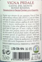 Voorvertoning: Vigna Pedale Castel del Monte Riserva DOCG 2015 - Torrevento