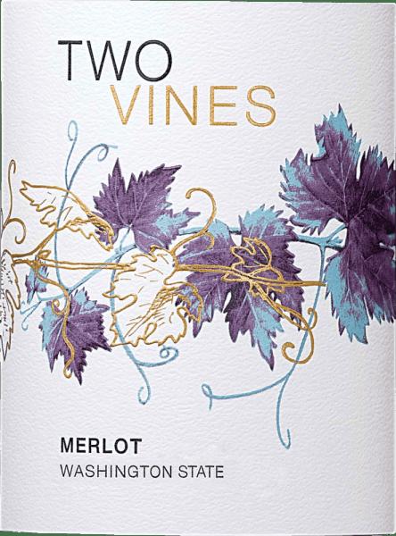 De Two Vines Merlot uit Columbia Crest in de wijnregio Washington State is een heerlijke, fluweelzachte rode wijn. In het glas glinstert deze wijn, warm kersenrood met paarse accenten. Het verleidelijke bouquet onthult intense aroma's van sappig bessenfruit - vooral frambozen en bramen springen in het oog - ondersteund door subtiele tonen van getoaste nuances en eikenhout. In de mond presenteert deze wijn zich in eerste instantie met een fruitig en zacht bessenaroma. Naarmate de smaak vordert, worden kruidige noten, koffie en pure chocolade toegevoegd. De body is heerlijk fluweelzacht en zeer evenwichtig. De afdronk heeft een mooie lengte. Vinificatie van de Columbia Crest Two Vines Merlot Nadat de Merlot-druiven in de Columbia Valley zijn geoogst, worden ze volledig ontsteeld en zorgvuldig gekneusd in de Columbia Crest winery. Het resulterende beslag wordt vervolgens gedurende 7 tot 10 dagen gefermenteerd in roestvrijstalen tanks, waarbij tweemaal per dag wordt overgepompt. Hierdoor worden meer kleurpigmenten en aroma's aan de bessenschillen onttrokken. Nadat de gisting is voltooid, blijft deze wijn 12 maanden in Franse en Amerikaanse eiken vaten liggen. Aanbevolen voedsel voor de Merlot Columbia Crest Two Vines Geniet van deze droge rode wijn uit de VS bij geroosterd lamsvlees met stevige bijgerechten, rundvleesgoulash met lintnoedels of ook bij pastagerechten in pikante saus.
