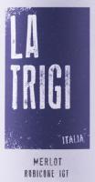 Voorvertoning: Merlot Rubicone IGT 1,5 l Magnum 2018 - La Trigi
